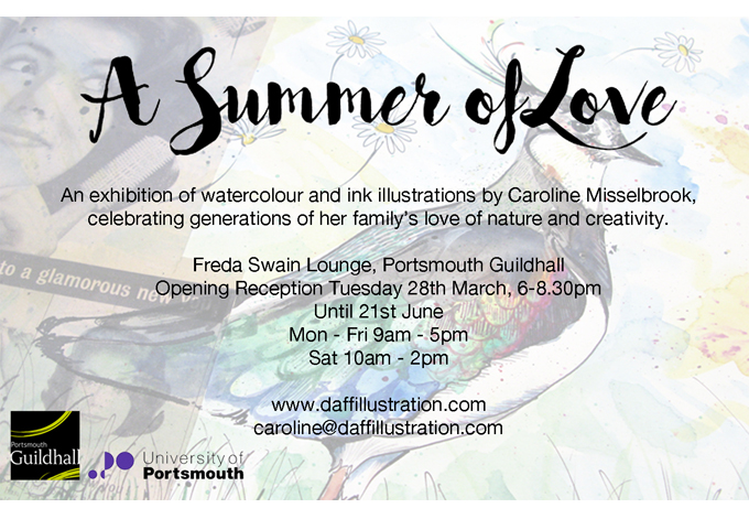 'A Summer of Love' at Portsmouth Guildhall, March - June 2017
