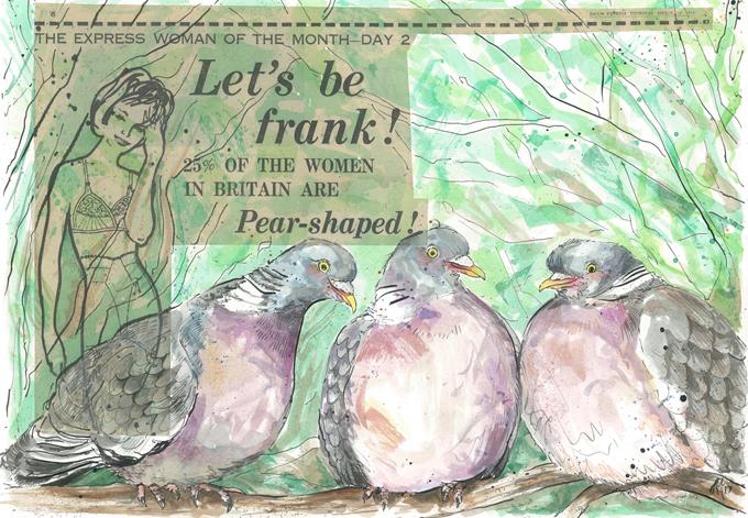 'Pear-shaped Birds'